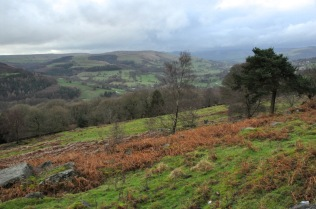Scenery of the Peak District