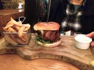 Ginger's hamburger