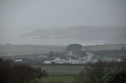A rainy day in Wales
