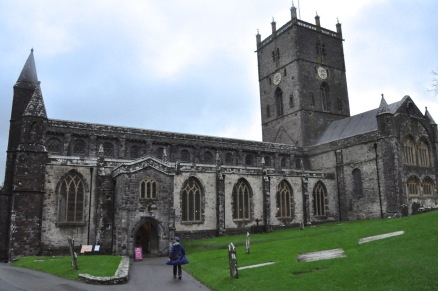 Entrance to St. David's Cathedral