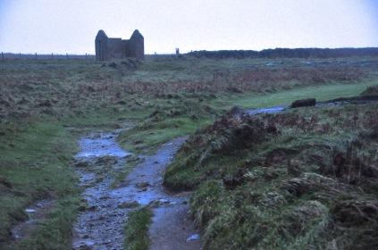 The Coastal Path and an abandoned house