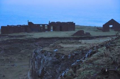 Abandoned building on the Coastal Walk