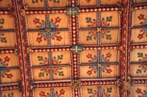 A closer look at the ceiling of the High Altar