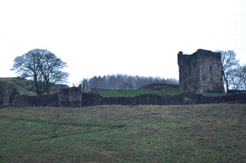 Peveril Castle, from 1086