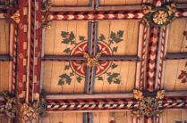 Detail of the ceiling of the High Altar