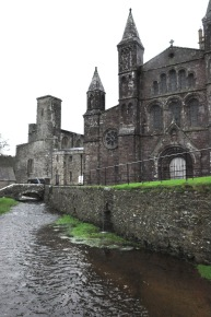West side of St. David's Cathedral
