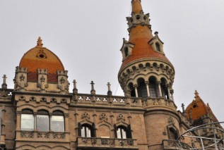 Detail of the Casa Rocamora
