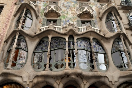 Main window of Casa Batllo