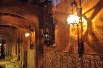 The beautiful foyer