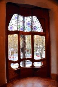 Window to the Passeig de Gracia