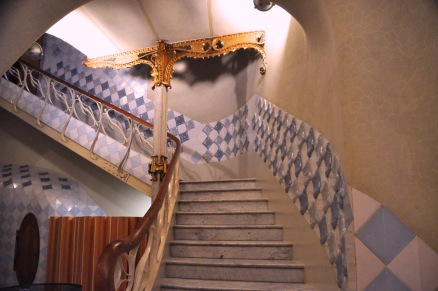 Stairs from the entrance hall
