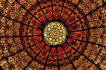 Center detail of the skylight