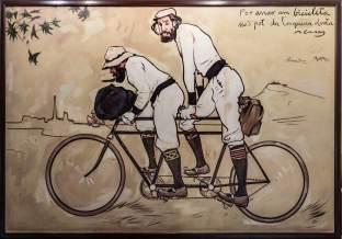 The painting by Ramon Casas, picture from the internet.