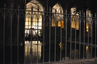 The cloister fish pond/fountain