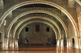 Saló del Tinell, the main hall of the Palau Reial Major, built in 1360