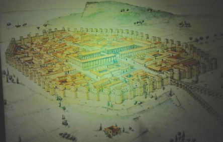 Artist depiction of Barcino