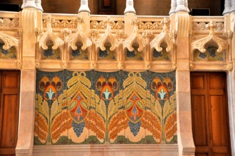Details of the mosaics