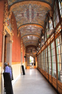 Looking back toward the foyer