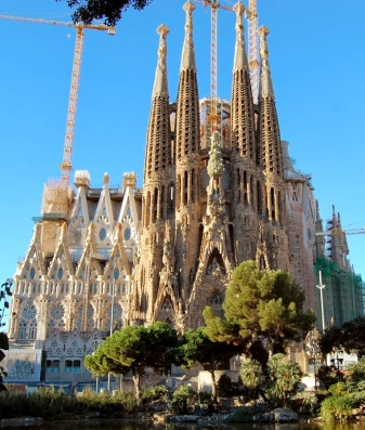 Sagrada Familia, Nativity entrance, picture from the internet