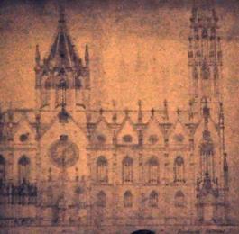 Neogothic plan for the Sagrada Familia, by architect Francisco de Paula del Villar y Lozano