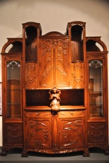 An oak buffet by Busquests, about 1901