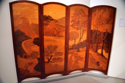 4-screen panel by Busquets, about 1912