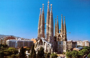 The Sagrada Familia; picture from the internet