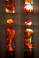 Detail of Passion facade window