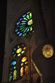 Nativity entrance windows