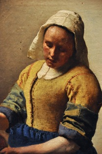 Detail of The Milkmaid