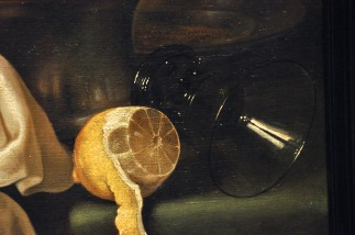 Detail of Still Life with a Gilt Cup