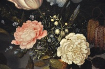 Detail of Still Life with Fruit and Flowers
