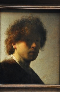 Self-portrait, by Rembrandt Harmensz van Rijn, 1628