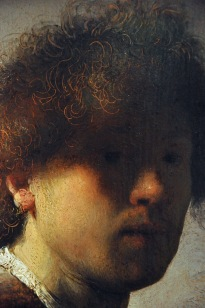 Detail of Self-portrait