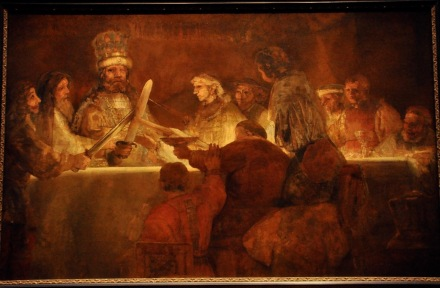 The Conspiracy of the Batavians under Claudius Civilis, by Rembrandt Harmensz van Rijn, 1661