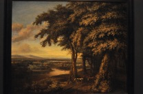 The Entrance to the Woods; by Philips Koninck, 1665
