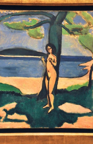 Nude by the Sea; by Henri Matisse, 1909