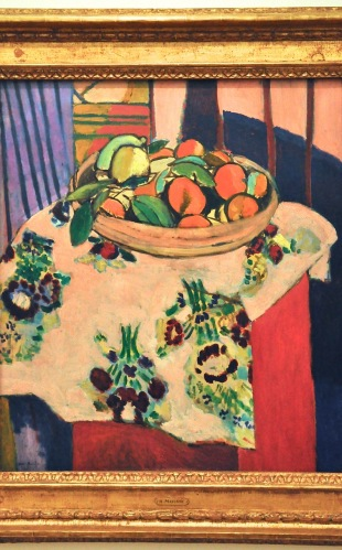 Still Life with Basket of Oranges; by Henri Matisse, 1912