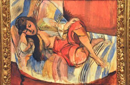 Odalisque; by Henri Matisse, 1920