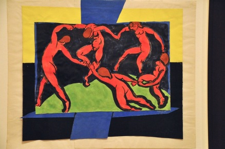 The Dance (preliminary model for book cover)); by Henri Matisse, 1938