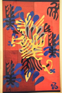 Mimosa; by Henri Matisse, 1951. It was produced as a rug.