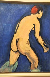 Bather; by Henri Matisse, 1909
