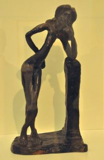 The Serpentine; by Henri Matisse, 1909 (bronze)