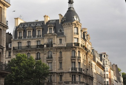 A Paris building