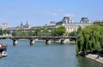 The Pont des Arts bridge