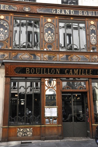 The restaurant Bouillon Racine, from the early 1900's