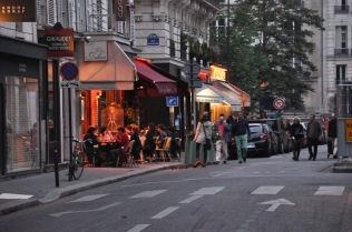Small Paris bistro