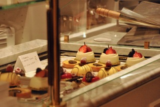 Patisseries are everywhere