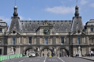 Gate to the Louvre, Pont du Carrousel