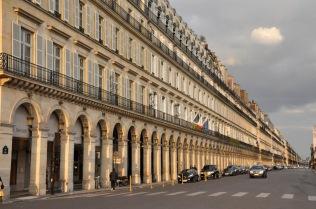 Building on Rue de Castiglione